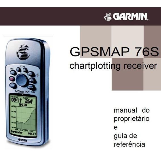 Manual Em Português Gps Garmin Gpsmap 76s