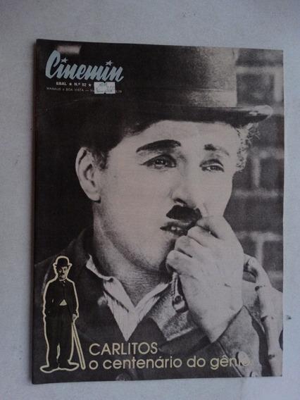 Cinemin Nº 52! 5ª Série! Ebal Mar-abr 1989!
