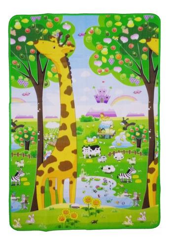 Imagem 1 de 2 de Tapete Infantil Termico Impermeável 180x115cm Portátil