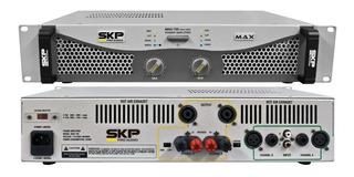 Skp Max 720 4 Omhs Amplificador De Potencia 350w + 350w Rms