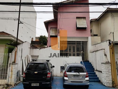 Casa Comercial Para Venda / Locação No Bairro Sumaré Em São Paulo - Cod: Ja15717 - Ja15717