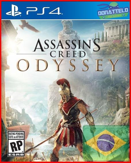 Assassins Creed Odyssey Ps4 Original 1 Digital + The Fate Of Atlantis Episode 1