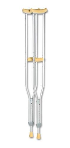 Imagen 1 de 8 de Muletas De  Aluminio Ultralivianas  Tamaño Grande