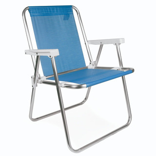 Sillon Playero 3/4 Sannet Aluminio Reposera Playa Camping