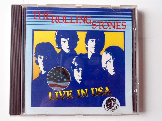 Cd Rolling Stones - Live In Usa 64/ 66 - Original Importado