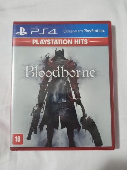 Bloodborne Ps4 Mídia Física Lacrado Pt Br