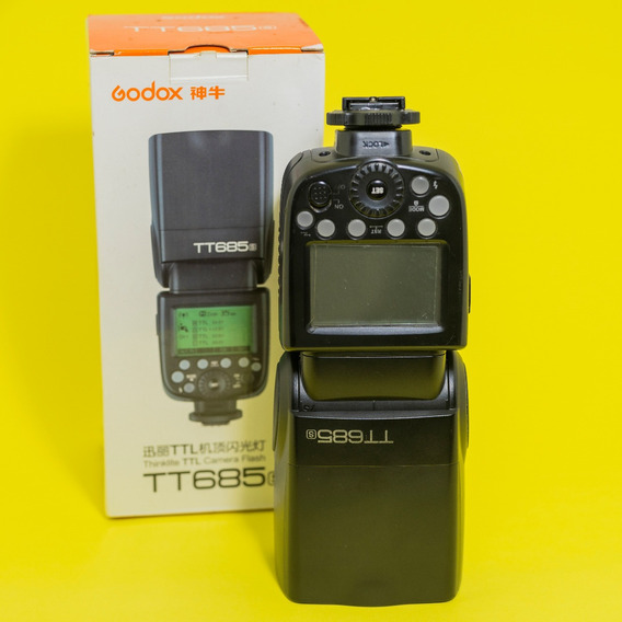 Flash Godox Tt685s Sony Pequeno Detalhe