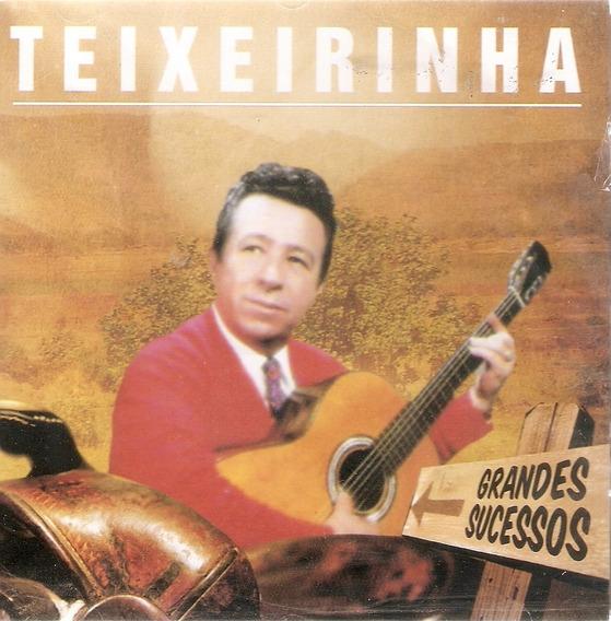 Cd Teixeirinha - Grandes Sucessos - Novo Lacrado***