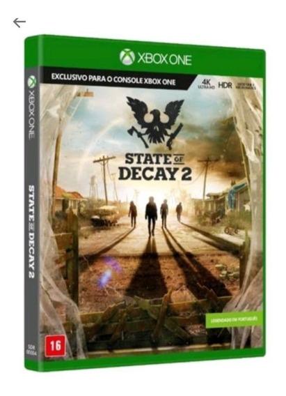 State Of Decay 2 - Midia Fisica Original Lacrado - Xbox One