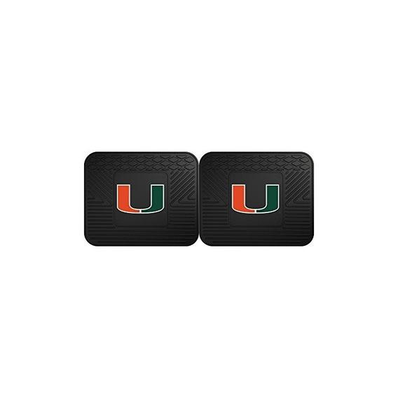 Fanmats 12287 Tapete Utility Para Universidad De Miami - 2 P