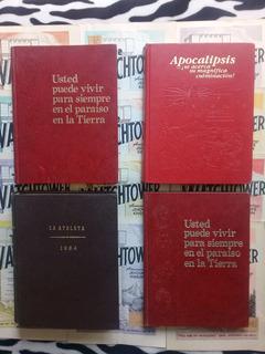 4 Libros Watchtower ¿subliminales? Testigos De Jehová