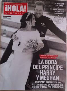 Revista Hola Boda Príncipe Harry Y Meghan