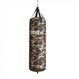 Saco Pancadas Camuflado 102cm Everlast Boxe Muay Thai Vazio