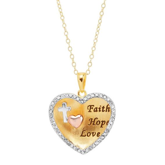 Corazón Grabado Con Cristales Swarovski Plata Esterlina