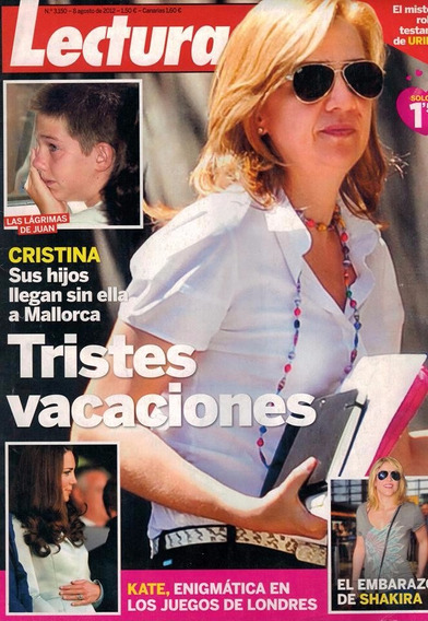 Lecturas: Infanta Cristina / Grace Kelly / Kate Middleton