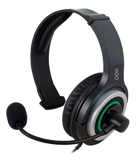 Fone Ouvido Headset Army Para Xbox One P2 Pc Hs408 Preto Oex