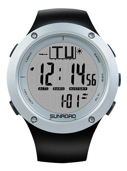 Relógio Masculino Barômetro, Altímetro, Temperatura, Previsão Do Tempo, À Prova D