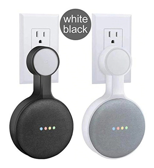 Suporte Para Google Home Mini Tomada Sem Perfurar Parede