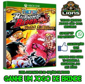 One Piece Burning Blood Gold Edition Xbox One Offline+brinde