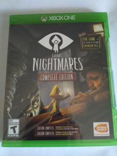 Little Nightmares Complete Edition Xbox One Nuevo Sellado
