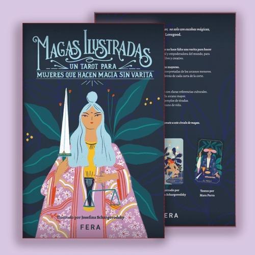Imagen 1 de 6 de Magas Ilustradas: Libro De Tarot + Mazo Ilustrado - Fera