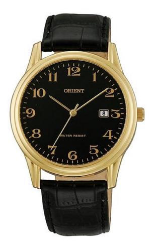 Reloj Orient Funa0001b Unisex Calendario Cuero 100% Original