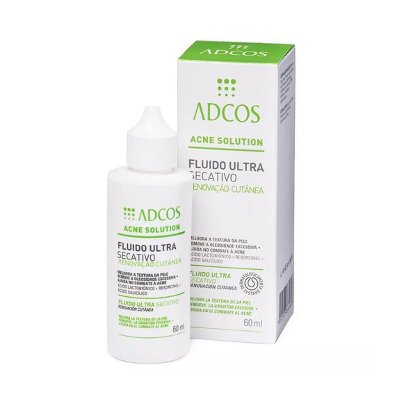 Adcos Acne Solution Fluido Ultra Secativo 60ml