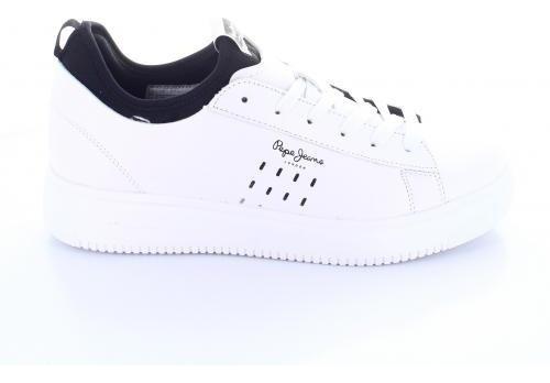 Tenis Para Hombre Pepe Jeans 2299-050450 Color Blanco