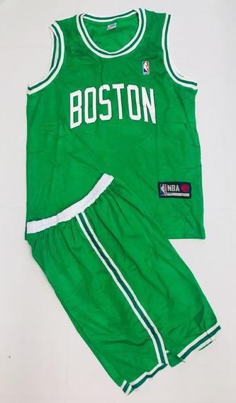 Uniforme Baloncesto Celtics Niño