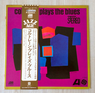 Vinilo John Coltrane - Coltrane Plays The Blues (1972, Jap)