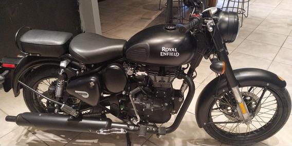 Classic 500cc Royal Enfield Stelht Black Rosario