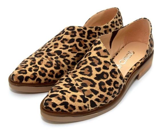 Zapatos Leopardo Apertura Lateral Class Express Art. 107