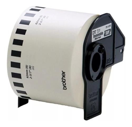 Imagen 1 de 7 de Rollo Etiquetas Adhesivas Impresora Brother Ql-1060 Dk2205