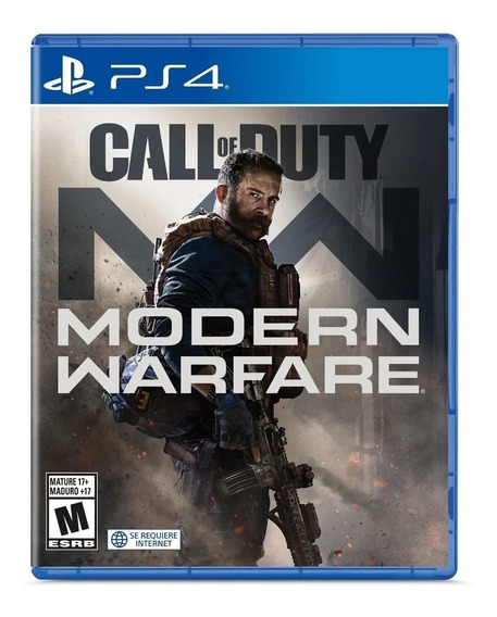 Call Of Duty Modern Warfare Formato Físico Ps4 Original