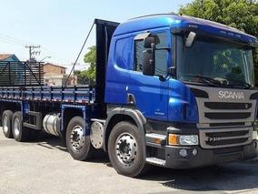 Scania P310 8x2 Bitruck 2015 Carga Seca Entrada E Parcelas