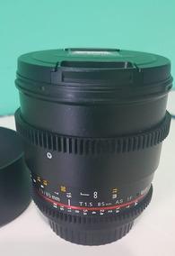 Lente Rokinon 85mm T/1.5 Cine