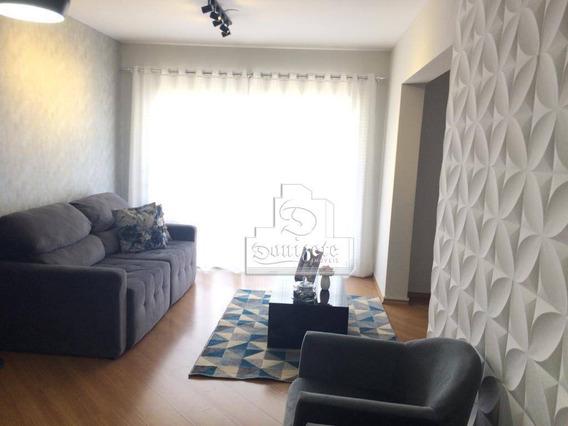 Apartamento Com 3 Dormitórios À Venda, 93 M² Por R$ 585.000,00 - Vila Bastos - Santo André/sp - Ap12622