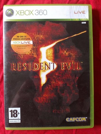 Resident Evil 5 Xbox 360 Frete R$10