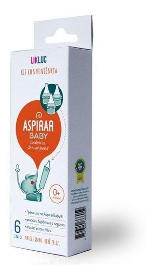 Kit Conveniência Ponteiras Descartáveis Aspirar Baby Likluc