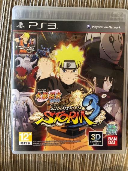 Naruto Ultimate Ninja Storm 3 Midia Física - Ps3 Usado