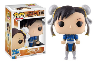 Funko Pop Chun-li #136 Street Fighter Regalosleon
