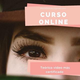 Curso Alisado Y Tinte De Ceja + Certificado