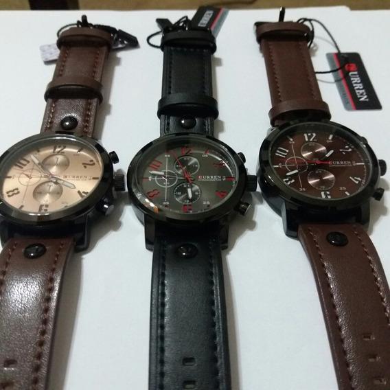 03 Relógios Curren,prova D