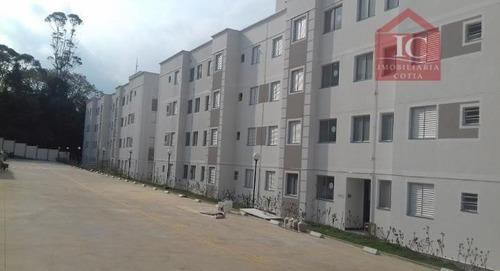 Apartamento Com 2 Dormitórios À Venda, 48 M² Por R$ 220.000,00 - Altos De Caucaia (caucaia Do Alto) - Cotia/sp - Ap0236