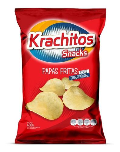 Imagen 1 de 3 de Papas Fritas Krachitos 600g