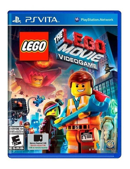 Lego The Movie Videogame - Ps Vita - Novo - Lacrado - Física