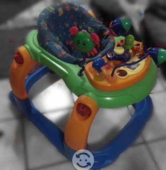 Andadera Para Bebé Prinsel Antares Verde Marina Dibujos Mar