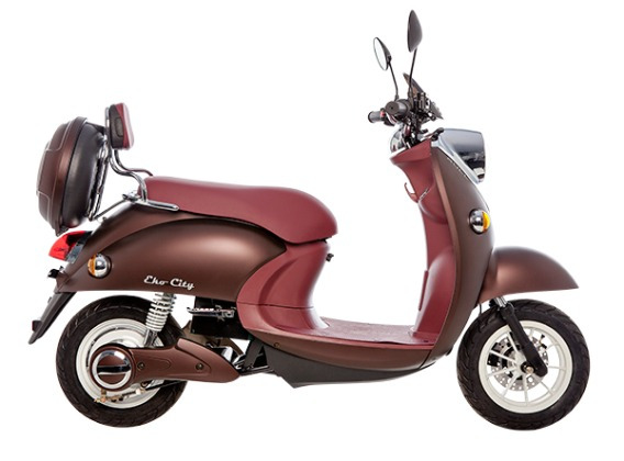 Scooter 100% Eletrica - Bull Motors 1.200w