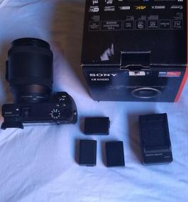 Camera Sony A6500+lente 18x200