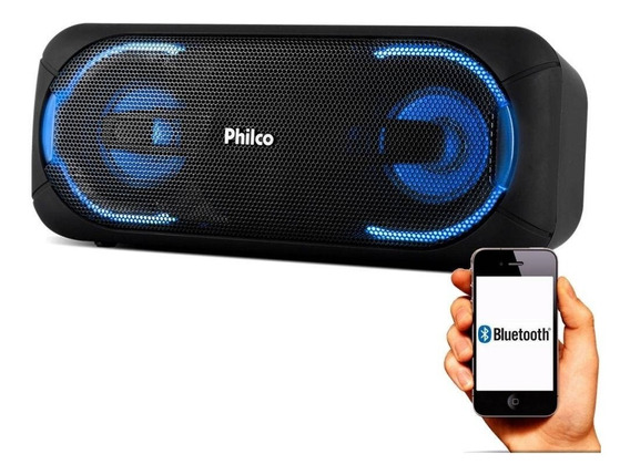 Caixa Som Speaker Philco Pbs50 Extreme 50 W Bivolt+n/fis